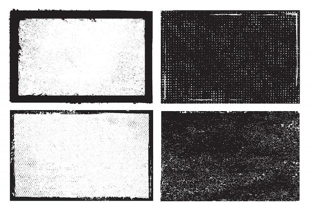 Quadros de textura grunge