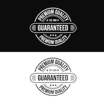 Qualidade premium garantida logo de carimbo do produto para venda na loja online
