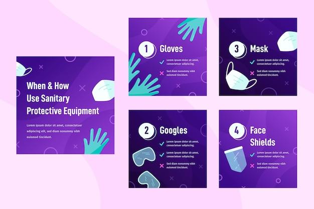 Quando e como usar equipamentos de proteção sanitária