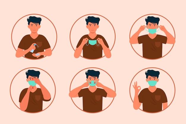Quando e como usar o infográfico de máscara
