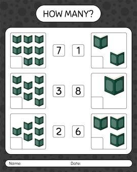 Quantos jogos de contagem com alcorão. planilha