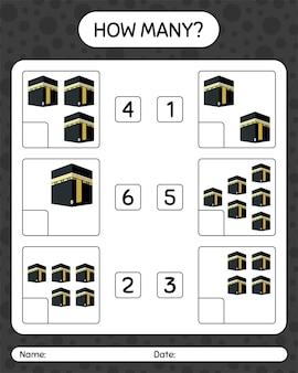 Quantos jogos de contagem com kaaba. planilha