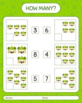 Quantos jogos de contagem com mesquita. planilha