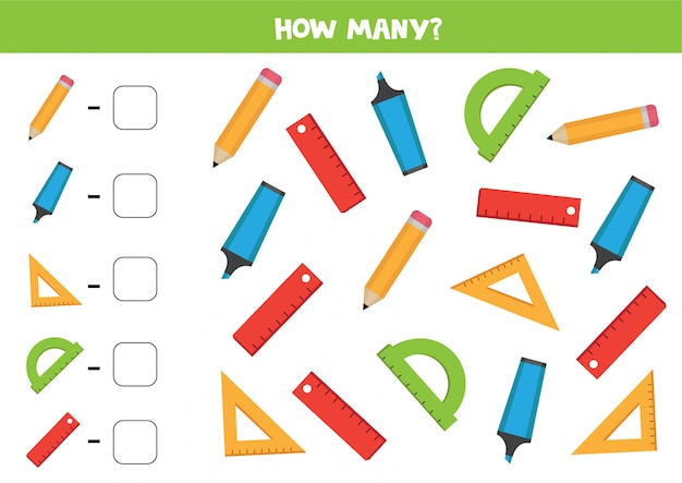 Quantos objetos existem?