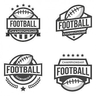 Quatro logotipos para o futebol