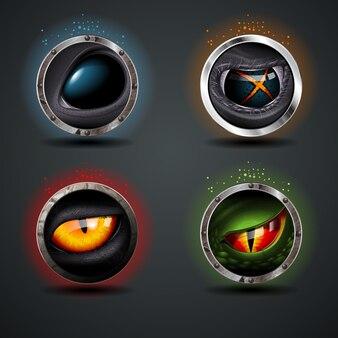 Quatro olhos assustadores