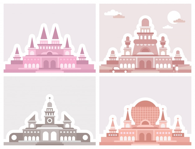 Quatro palácios