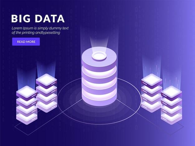 Quatro servidores locais conectados a um banco de dados.