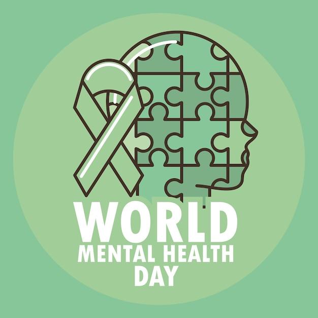 Quebra-cabeças de saúde mental mundial