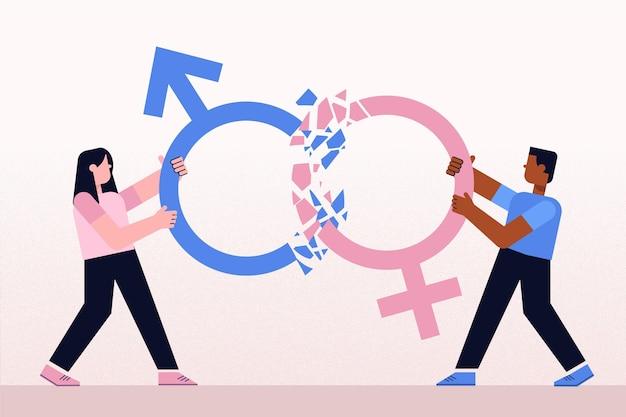 Quebrar o conceito de normas de gênero