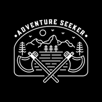 Quem procura aventura