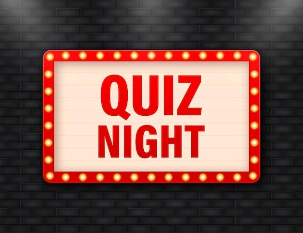 Quiz night lightbox