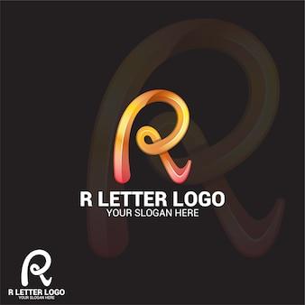 R logotipo da letra