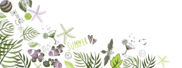 Rabiscos de verão