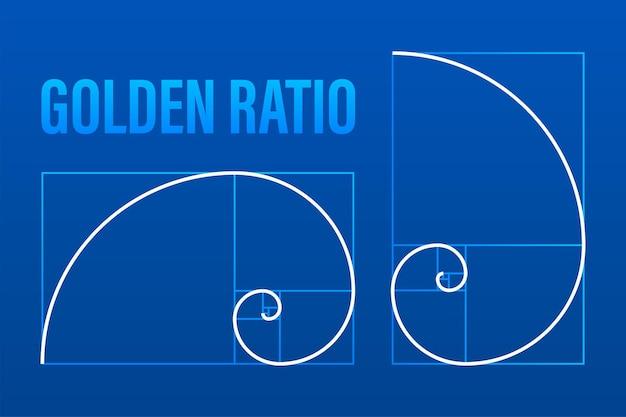 Ração de ouro. fundo geométrico abstrato. ilustração em vetor das ações. ilustração vetorial