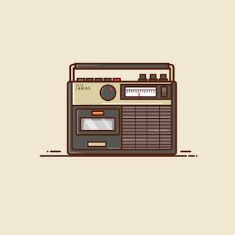 Rádio antiga