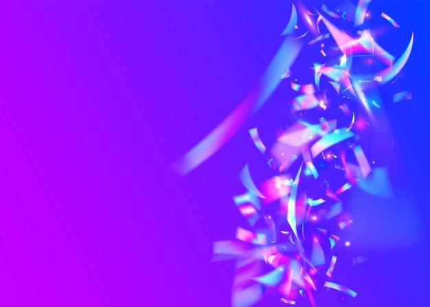 Rainbow confetti. folha de unicórnio