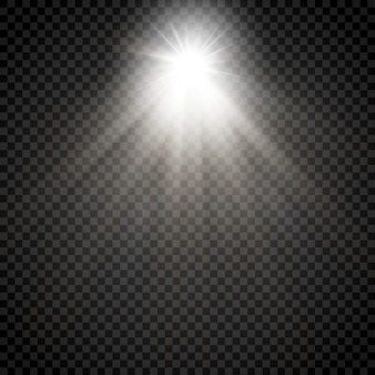 Raio estrela brilhante