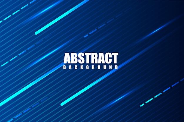 Raios e linhas de fundo futurista brilhante abstrato moderno