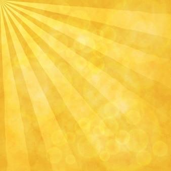 Raios solares fundo desfocado