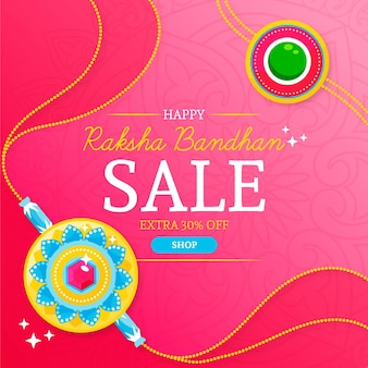 Raksha bandhan banner de venda