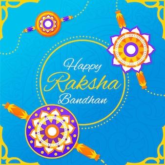 Raksha bandhan com saudação