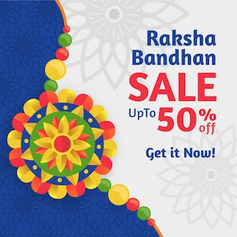 Raksha bandhan design de vendas