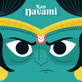 Ram navami avatar em close-up