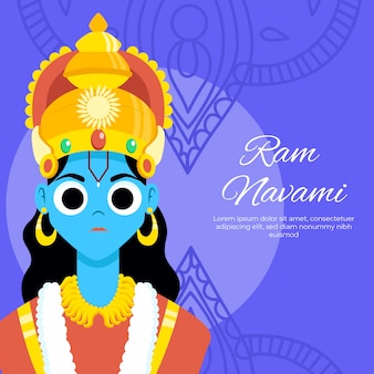 Ram navami com princesa