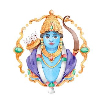 Ram navami festival personagem avatar