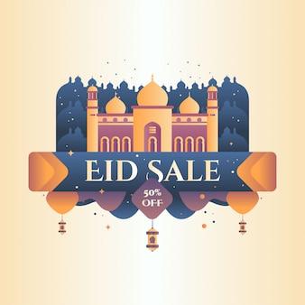 Ramadan kareem banner vector illustration