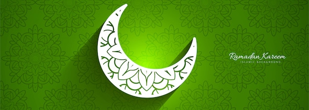 Ramadan kareem fundo colorido