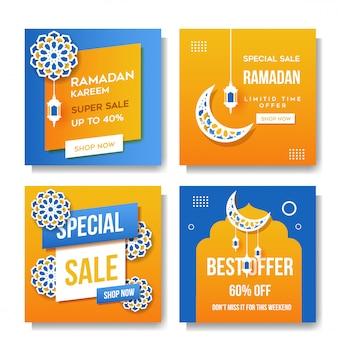 Ramadan kareem mídias sociais