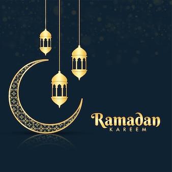 Ramadan kareem ou ramazan kareem concept