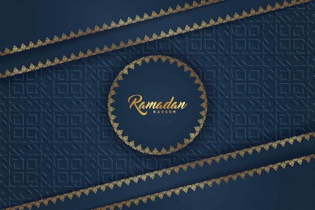 Ramadan karem saudações islâmicas.