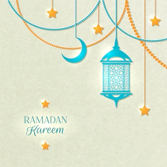 Ramadan light color background