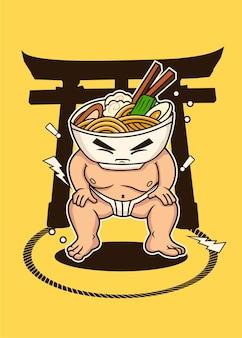 Ramen sumo