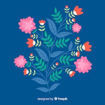 Ramo floral design plano