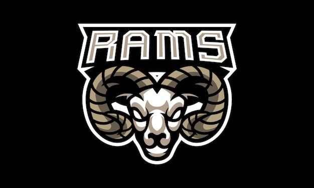 Rams head esports mascote