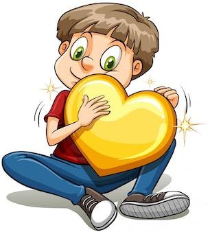 Rapaz com um coração de ouro