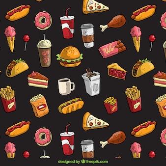 Rápido padrão alimentar