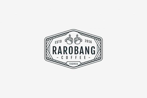 Rarobang coffee coffee bw