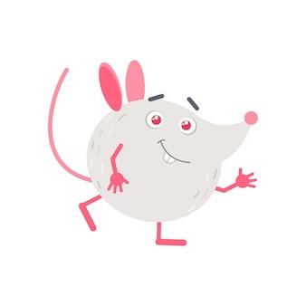 Ratinho, acenando a mão