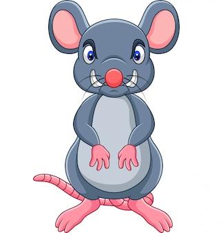 Rato com raiva dos desenhos animados
