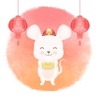 Rato do ano novo chinês