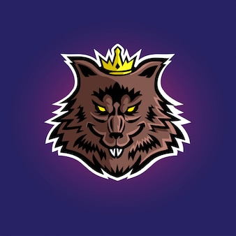 Rato rei esport gaming logo