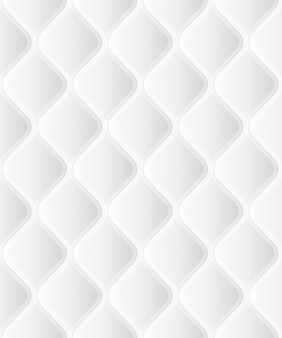 Rattern sem costura suave com ondas em branco. vista de perto. e também inclui