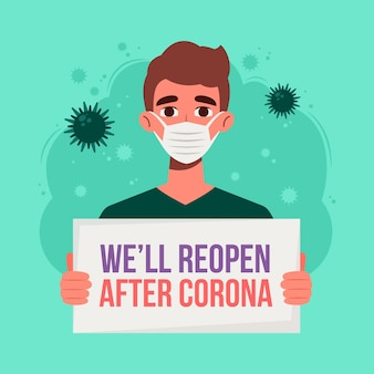 Reabrir a economia após o coronavírus
