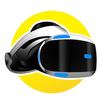 Realidade virtual de vetor para jogos