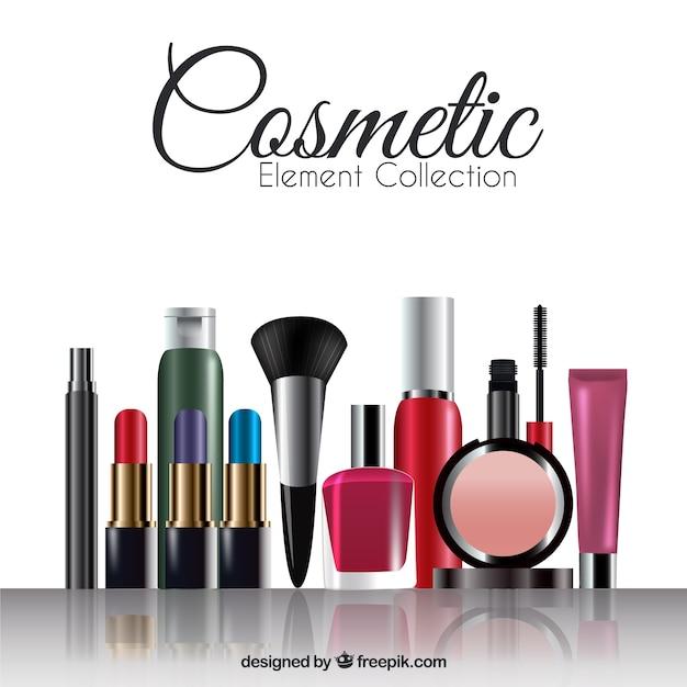 Realistic equipamentos de make-up